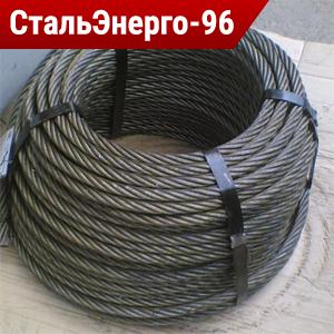 Канат стальной двойной свивки типа ЛК-РО ГОСТ 7669-80
